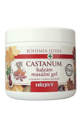 BOHEMIA HERBS - BALM - HORSE CHESTNUT 600 ML - MASSAGE GEL WARM