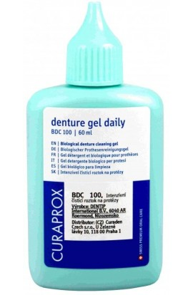 Gel for dentures BDC 100 daily 60ml Curaprox