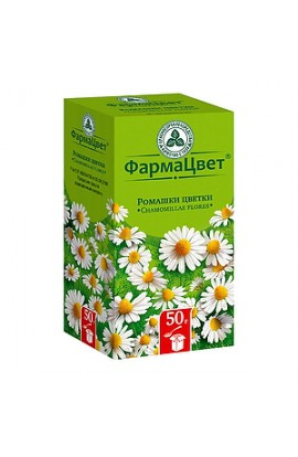 FarmaCvet Chamomile flowers, package, 50 grams