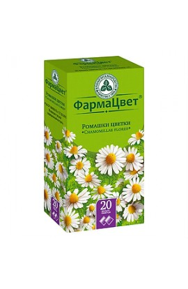 PharmaColor Chamomile flowers, filter packets, 1.5 g, 20 pcs.