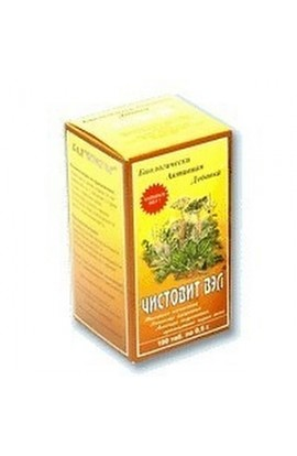 Ecology of nutrition Chistovit VEL, tablets 100 pcs.