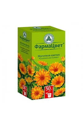 PharmacyColour of Calendula (Nails) flowers, bundle, 50 g