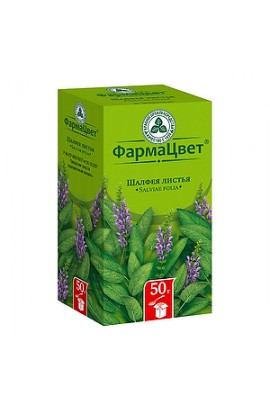 PharmaColor Sage leaves, packet, 50g