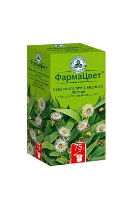 Pharma Color Eucalyptus leaf, packet, 75 grams
