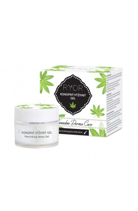 RYOR Cannabis nourishing gel. Cannabis Derma Care