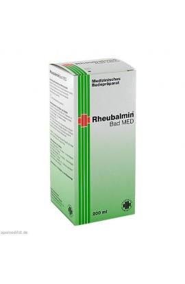Carl Hoernecke, Rheubalmin Bad MED, 200 ml
