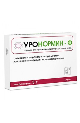 Pharmstandard Uronormine-F powder for hair. r-ra for oral administration of 3 g packets of 8 grams, 1 pc.