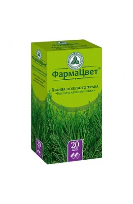 FarmaColor Horsetail field grass, filter packets 1,5 g, 20 pcs.
