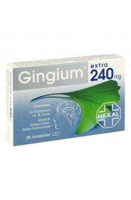 Gingium extra 240mg (20 pieces)