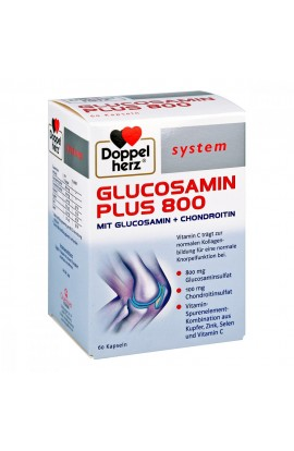 Double Heart Glucosamine Plus 800 system capsules (60 pcs)