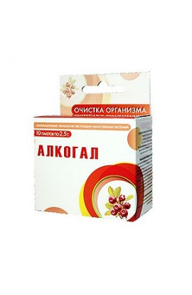 Saluta-M Alcogal, sachets of 2.5 g, 10 pcs.