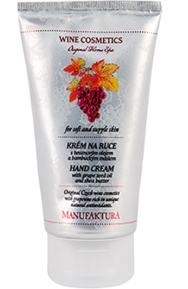 Manufaktura  Intensive hand cream with grape oil and shea butter 75 ml