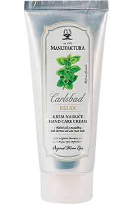 Manufaktura Hand care cream with spring salt, melon and grape oil  100 ml