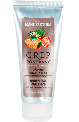 Manufaktura  Nourishing Hand Cream Grep & Orange with Shea Butter 100 ml