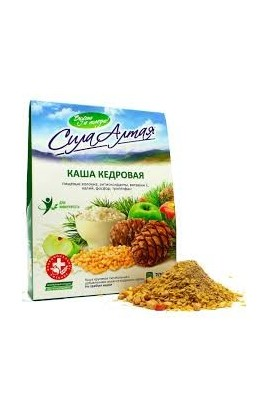 Porridge of cedar 'Strength of Altai' nutritious, 200 gr.