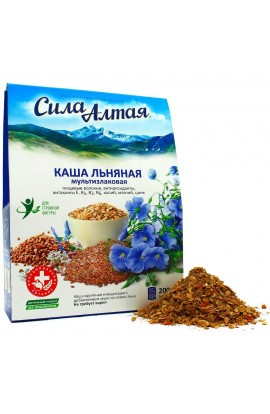Flax porridge 'The strength of Altai' multifilament, 200 gr.