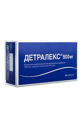 Serdix, Detralex, tablets 500 mg, 60 pcs.