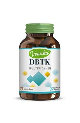 Voonka, DBTK, Multivitamin and mineral fittings 32 capsules
