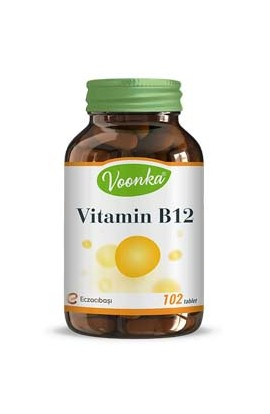 Voonka, Vitamin B12, containing arctic food 1000 μg 102 tablets