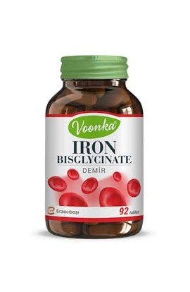 Voonka, Iron bisglycinate 92 tablets