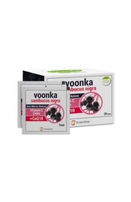 Voonka, Sambucus Nigra - extract of black eczema, zinc, vitamin C and coenzyme Q10 20 sachets
