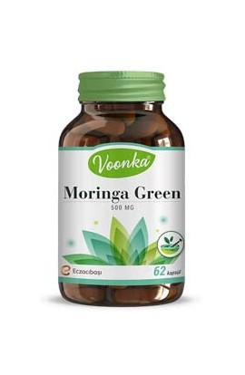 Voonka, Moringa, containing reinforcing products 500 mg 62 capsules
