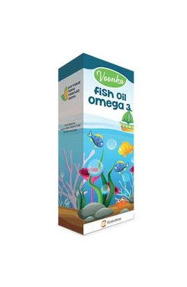 Voonka, Fish oil, Omega-3 150ml