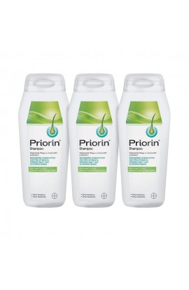 Priorin shampoo for hair loss and thinning hair (3x200 ml)