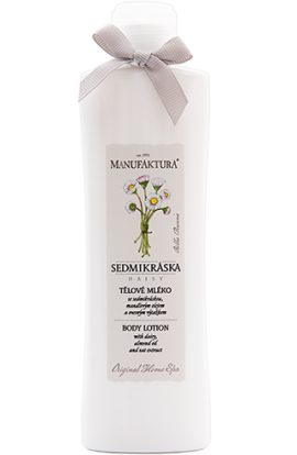 Manufaktura Body milk with daisy, almond oil and oatmeal  215 ml