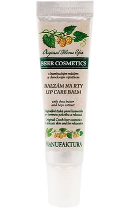 Manufaktura   Smoothing Lip Balm with Shea Butter and Hop Extract  15 ml