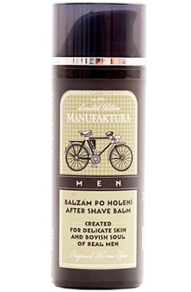 Manufaktura   After shave balm with herbal complex, panthenol and hyaluronic acid  50 ml