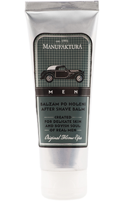 Manufaktura MEN Balm after shaving with herbal complex and panthenol  75 ml