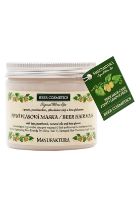 Manufaktura Regenerative beer hair mask with panthenol and beta-glucan  200  ml.