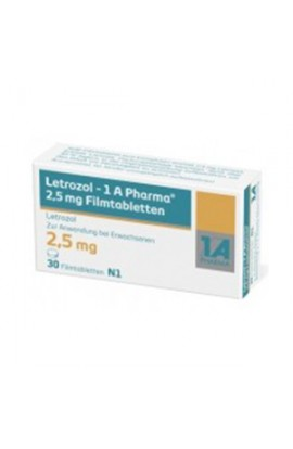 LETROZOL 1A Pharma 2,5 mg 30 pcs