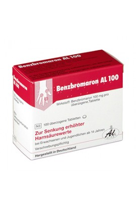 Benzbromarone 100 mg 100 pcs