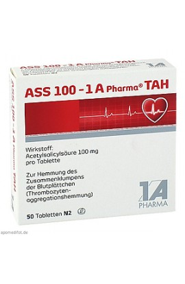 ASS 100 1A Pharma TAH 50 pcs