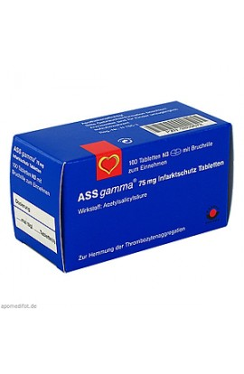 ASS GAMMA 75mg 100 pcs