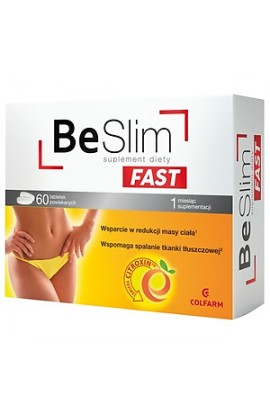 Be Slim Fast, tablets, 60 pieces