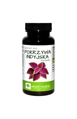 Pokrzywa indyjska Forskolin, Indian nettle forskolin, capsules, 60 pieces