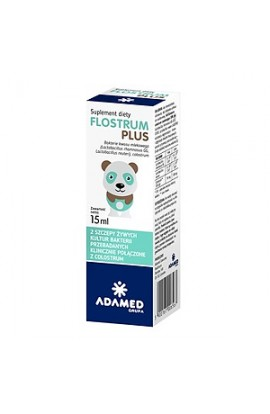 Flostrum Plus, drops, 15 ml