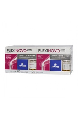 Flexinovo Forte, powder, 30 sachets + capsules, 60 pcs. 2 packs