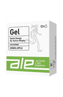 EL Gel Green apple, gel with green apple flavor, 55.5 g, 10 pcs.