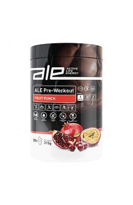ALE PreWorkOut, fruit punch, powder, 315 g