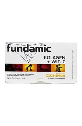Fundamic, Fundamental Collagen + Vit. C, powder, 12 g x 30 sachets