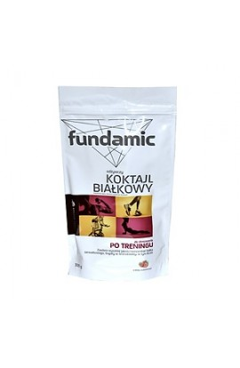 Fundamic, Foundation, nutritious protein shake, strawberry powder, 300 g