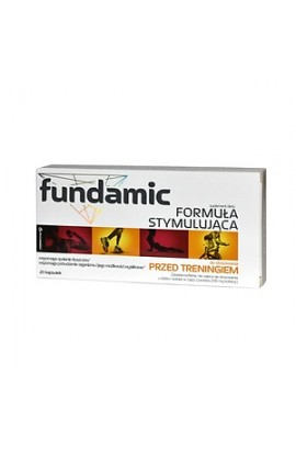 Fundamic, Fundamental Stimulating Formula, Capsules, 20 PCs.
