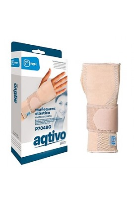 Prim Aqtivo Skin P704BG, elastic support for the wrist and metacarpal bone, size L