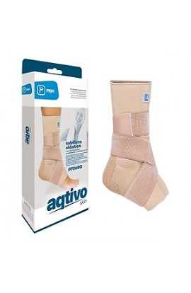 Prim Aqtivo Skin P706BG, figure 8 ankle stabilizer with silicone pads, size S