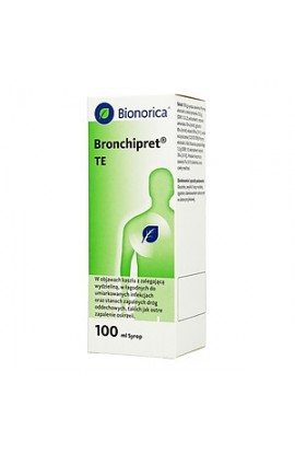 Bronchipret TE, 15 g + 1.5 g, syrup, 100 ml
