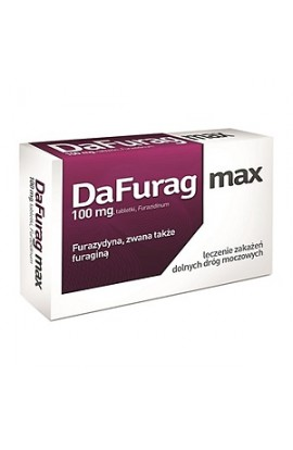 Dafurag Max, 100 mg, tablets